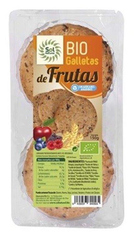 Galletas de Frutas (Sin Azúcar) Bio 150g