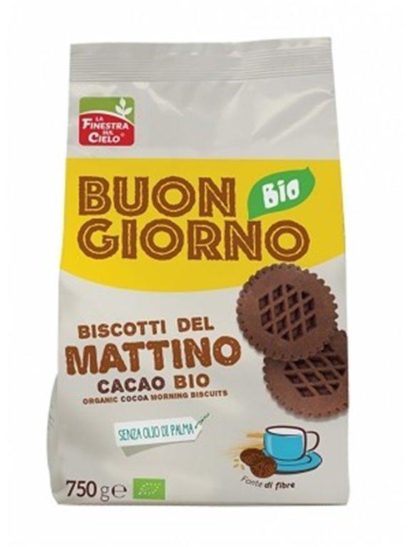 Galletas de la Mañana con Cacao (Sin Azúcar) Bio 750g