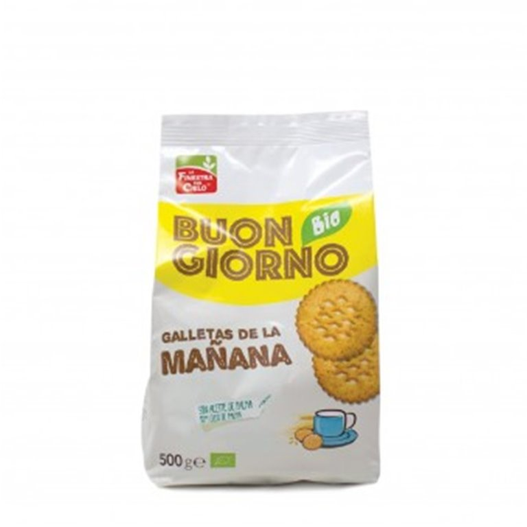 Galletas de la Mañana (Sin Azúcar) Bio 500g