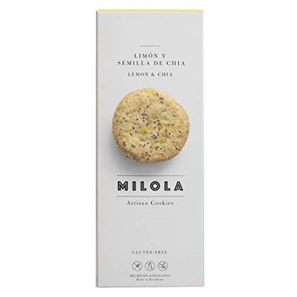 Galletas de limón y semillas de chía MiLola
