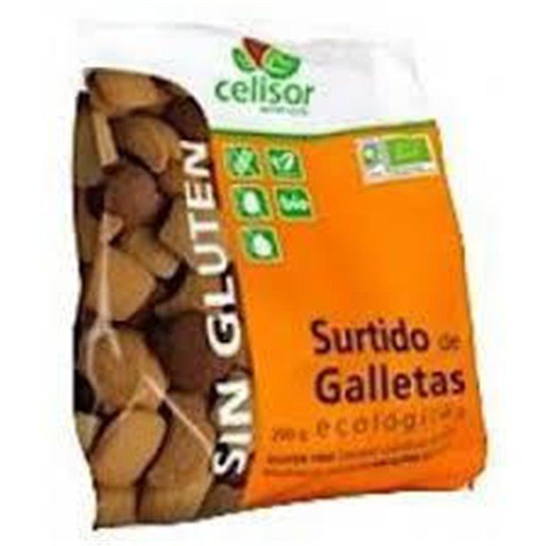 Galletas de Piña y Coco Sin Gluten Bio 200g