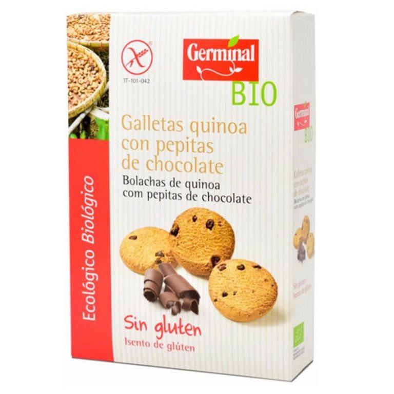Galletas de Quinoa con Chispas de Chocolate Sin Gluten Bio 250g
