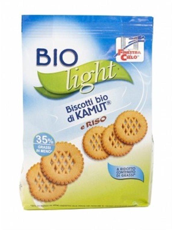 Galletas de Trigo khorasan KAMUT® y Arroz Light (Sin Azúcar) Bio 250g