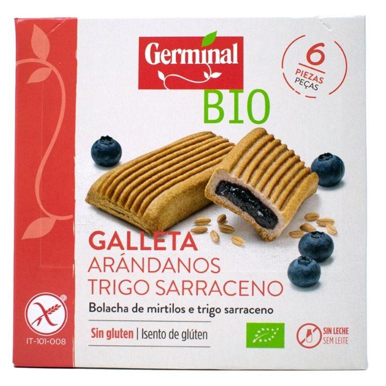 Galletas de Trigo Sarraceno con Arándanos Sin Gluten Bio 200g