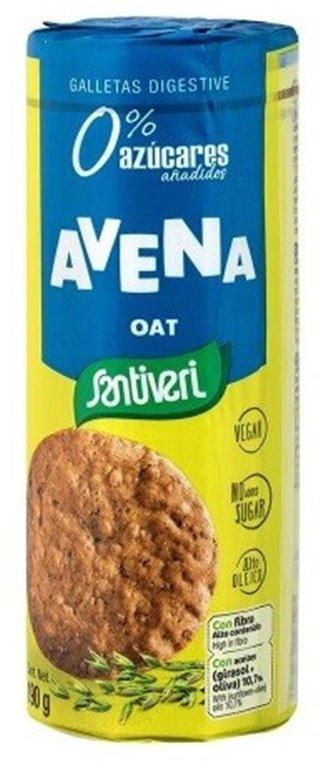 Galletas Digestivas con Avena (Sin Azúcar) 190g, 1 ud