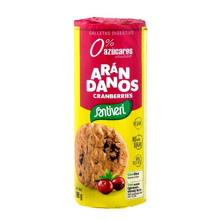 Galletas Digestive Arándanos Sin Azúcar 200g