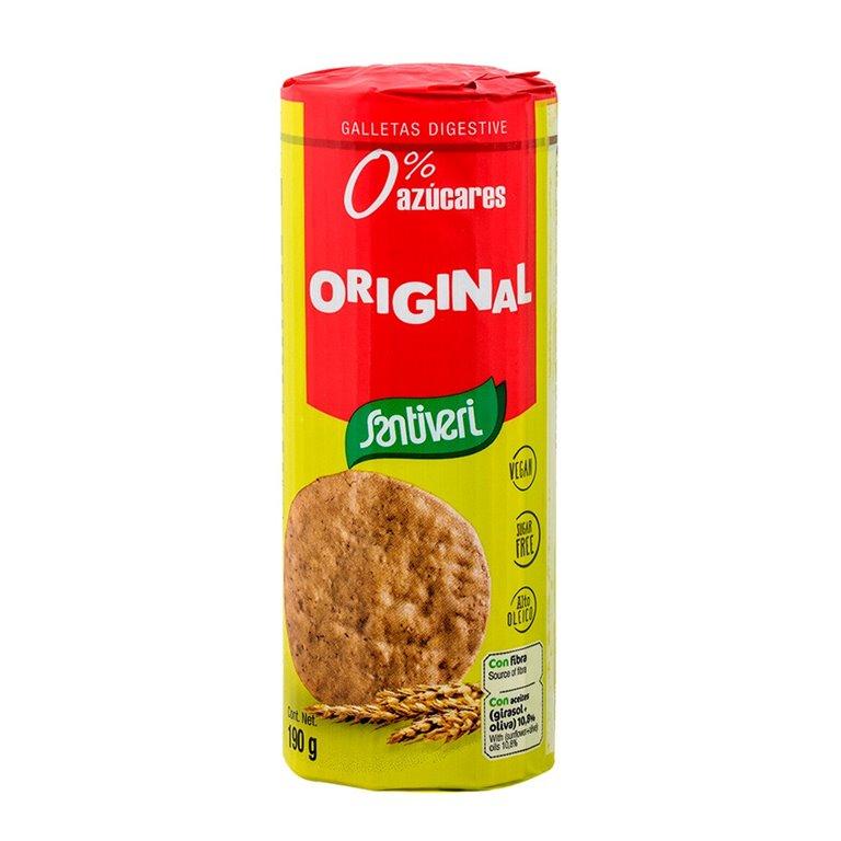 Galletas Digestive Originales Sin Azúcar 190g