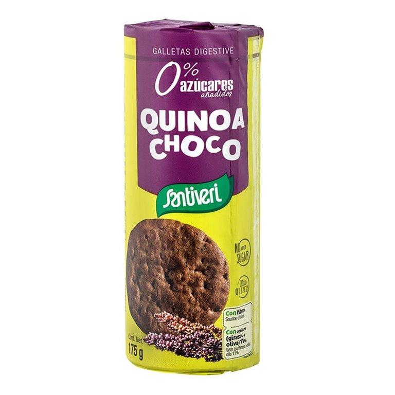 Galletas Digestive Quinoa y Chocolate Sin Azúcar 175g