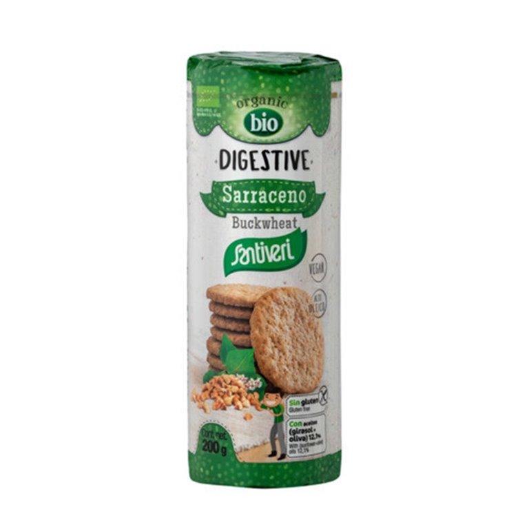 Galletas Digestive Sarraceno Sin Gluten Bio 200g