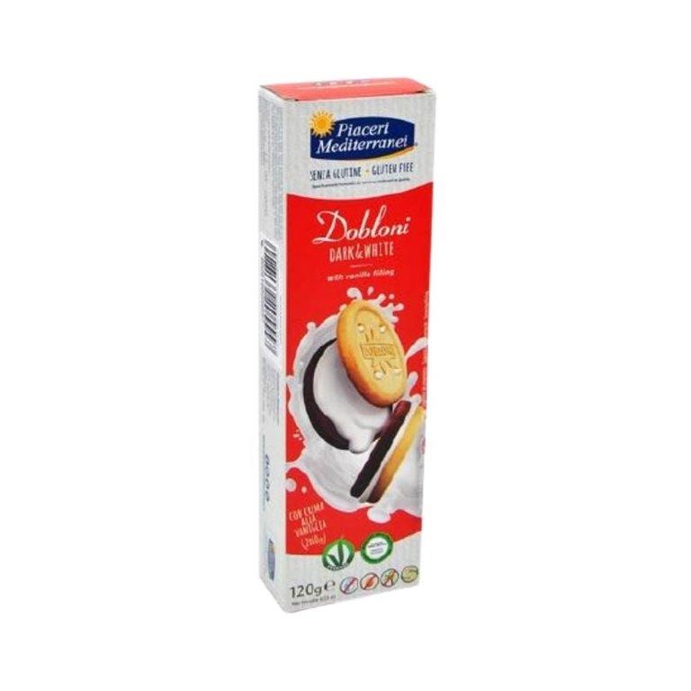 Dobloni Dark White Biscuits Gluten Free 120g