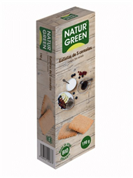 Galletas eco 5 cereales