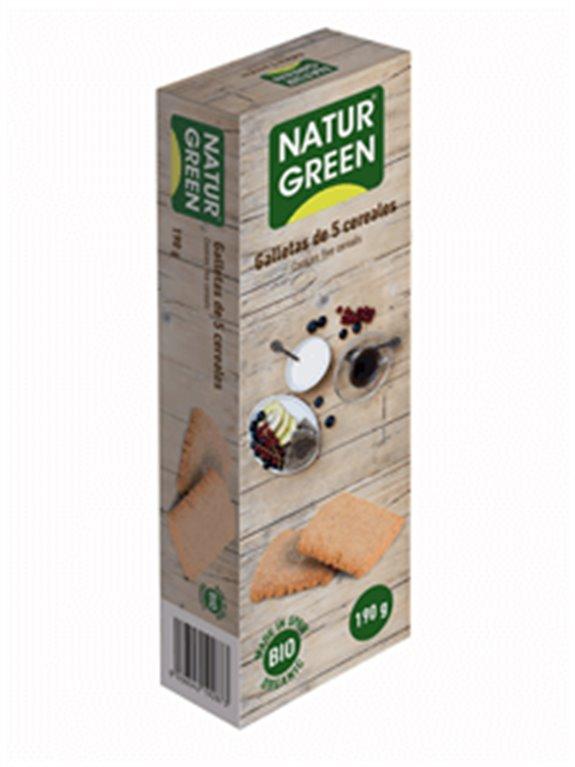 Galletas eco 5 cereales, 1 ud