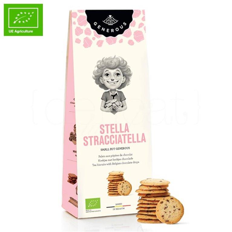Galletas Ecológicas de Stracciatella (Stella Stracciatella) 100gr. Generous. 8un., 1 ud