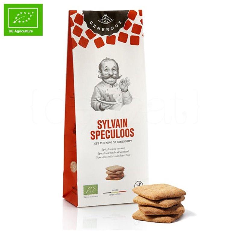 Galletas Ecológicas Speculoos (Sylvain Speculoos) 100gr. Generous. 8un., 1 ud