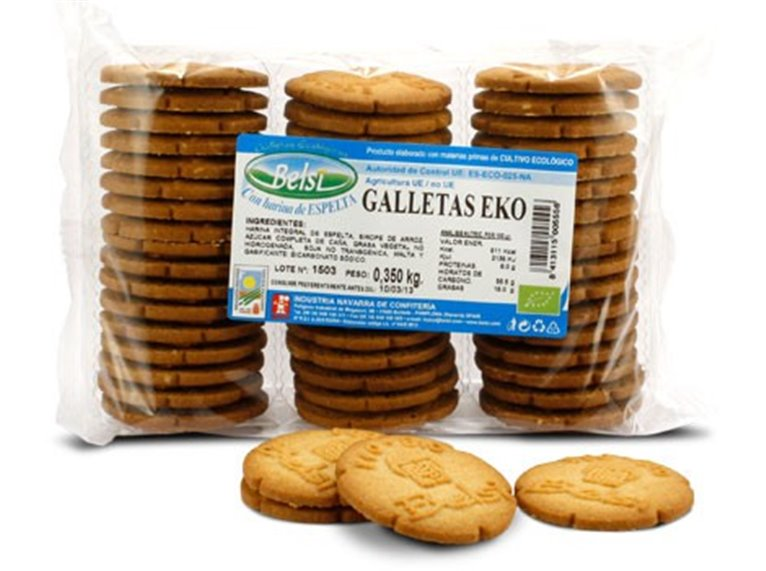 Galletas Eko espelta, 350 gr