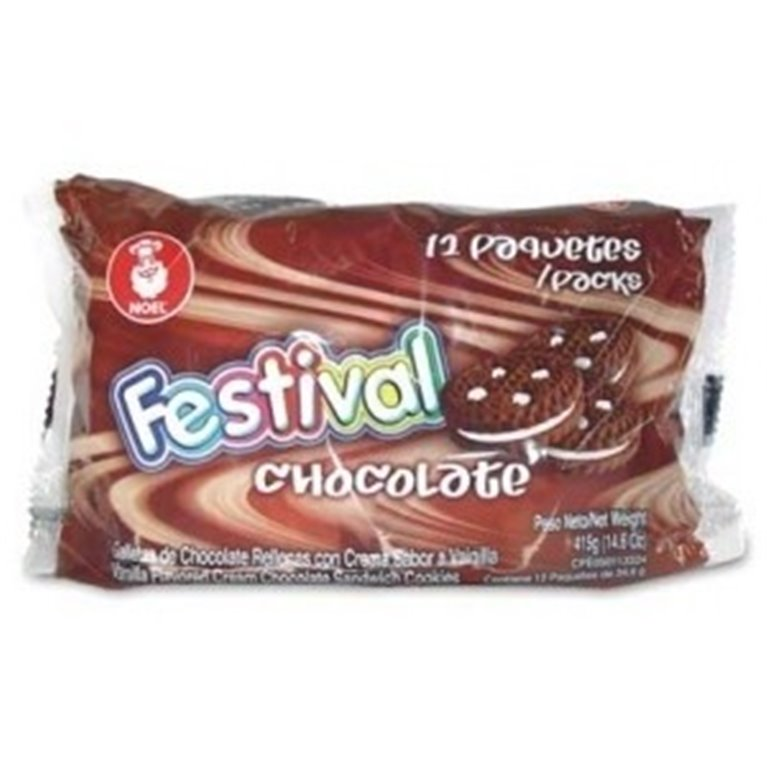 GALLETAS FESTIVAL DE CHOCOLATE X 415GRS