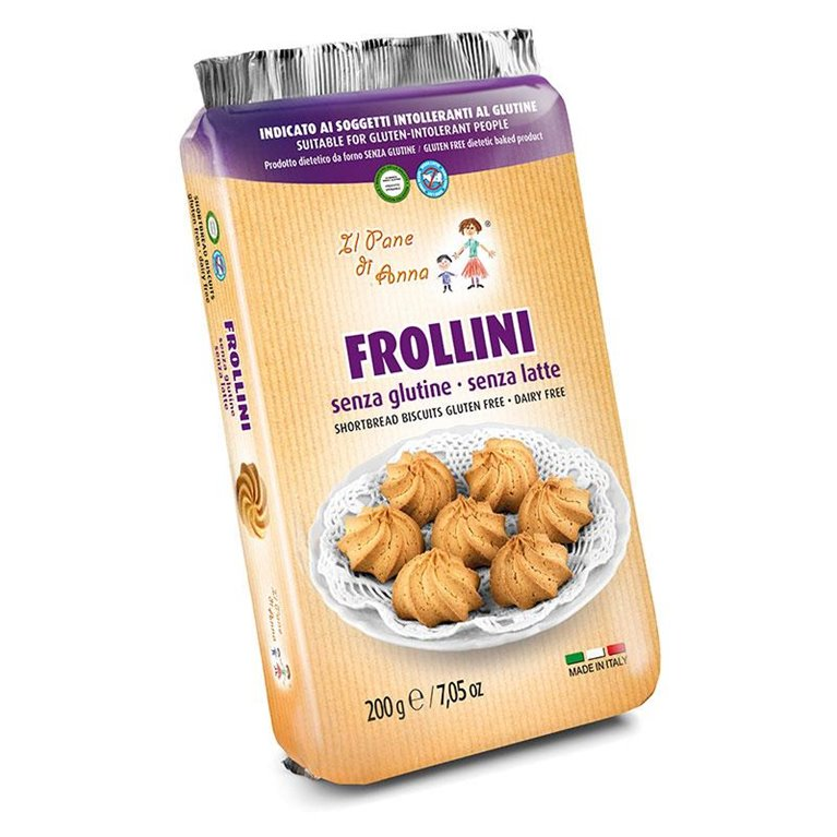Galletas Frollini Sin Gluten 200g