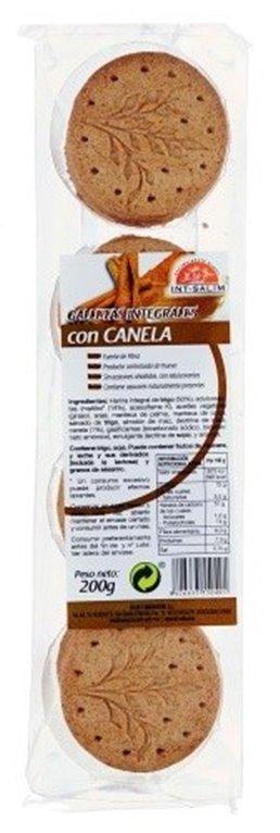 Galletas Integrales con Canela (Sin Azúcar) 200g