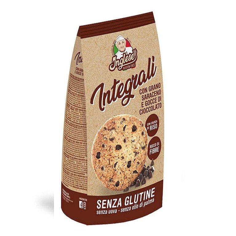 Galletas Integrales con Trigo Sarraceno y Chocolate Sin Gluten 300g, 1 ud
