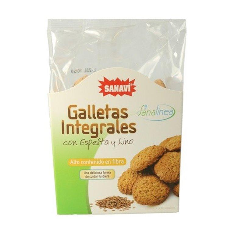 Galletas Integrales de Espelta y Lino 200g