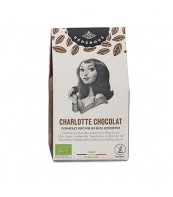 Galletas Mini Charlotte Chocolate 40gr. Generous. 16un.