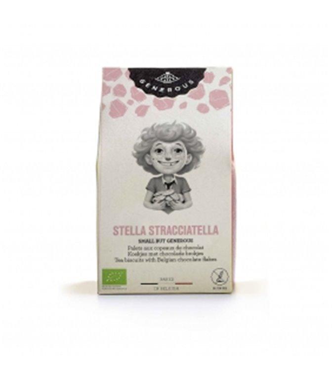 Galletas Mini Stella Stracciatella 40gr. Generous. 16un.
