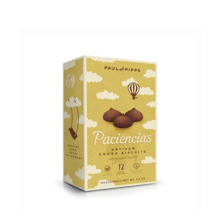 Galletas Paciencias de Chocolate Paul and Pippa 150 gr., 1 ud