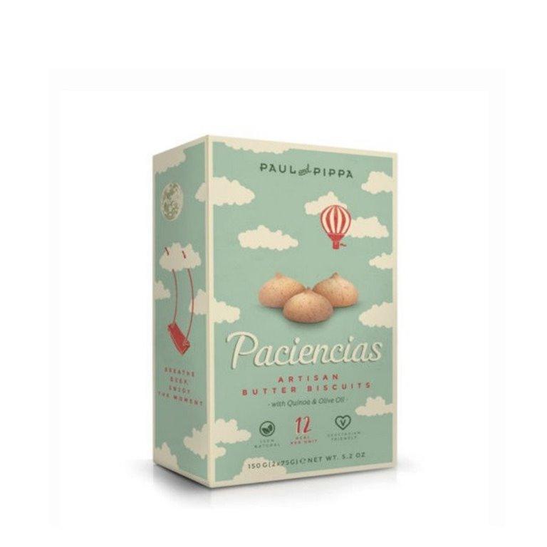 Galletas Paciencias de Mantequilla Paul and Pippa 150 gr., 1 ud