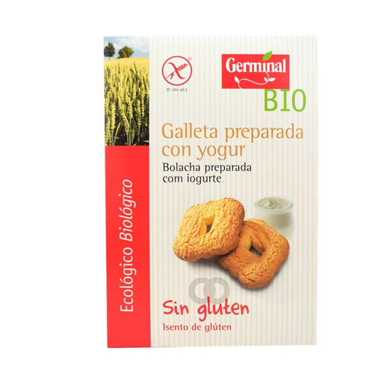 Galletas Preparadas con Yogur Sin Gluten Bio 250g, 1 ud