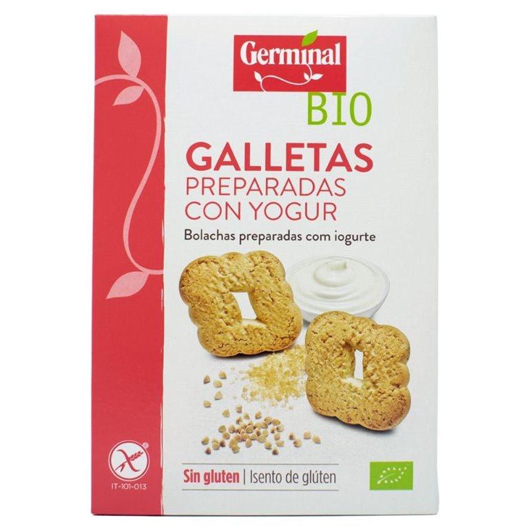 Galletas Preparadas con Yogur Sin Gluten Bio 250g