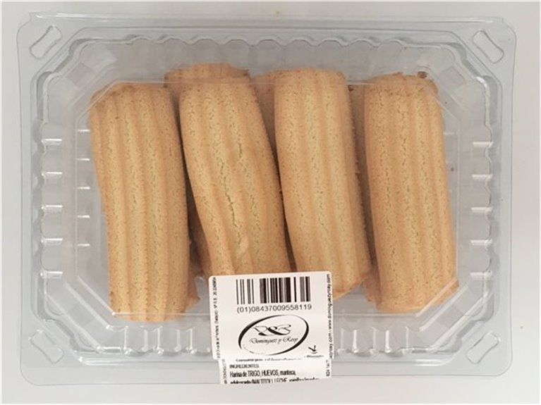 Galletas rizadas sin azúcar 400gr