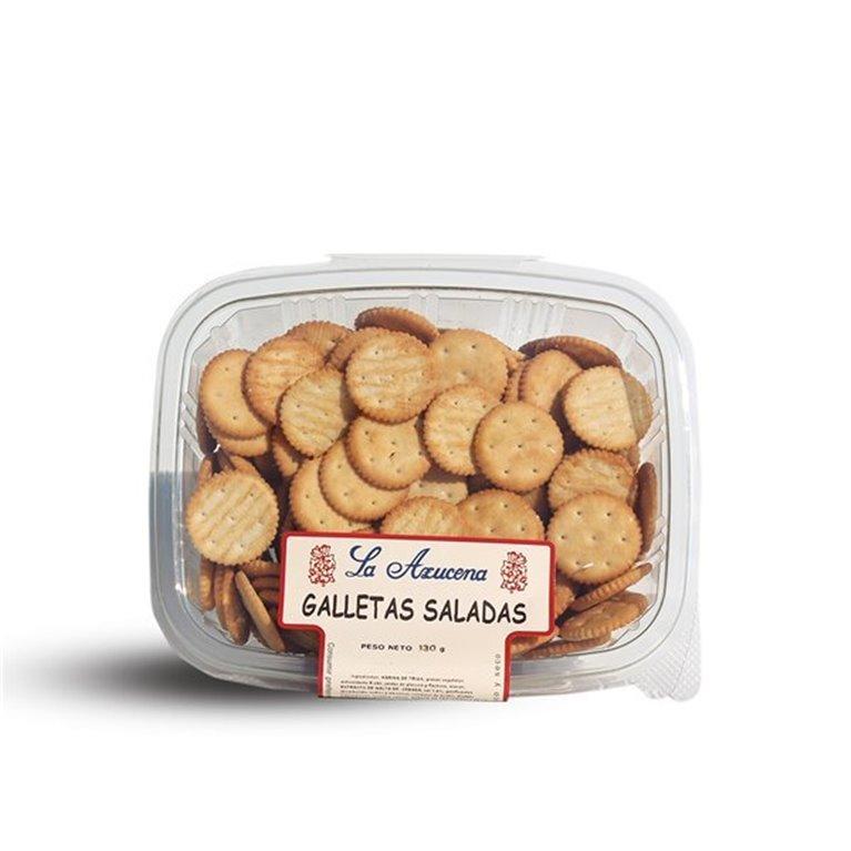 Galletas saladas La Azucena. Envase de 130g