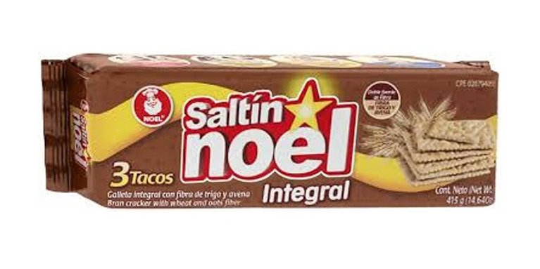 GALLETAS SALTIN INTEGRAL NOEL X 415GRS