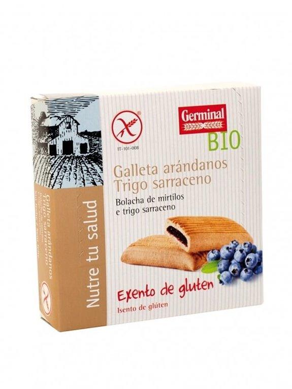 Galletas sarraceno con arándanos, 200 gr