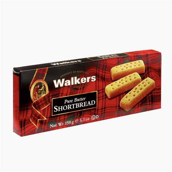 Galletas shortbread fingers 150 g Walkers