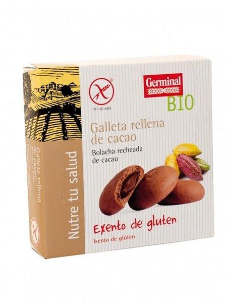 Galletas sin gluten rellenas cacao