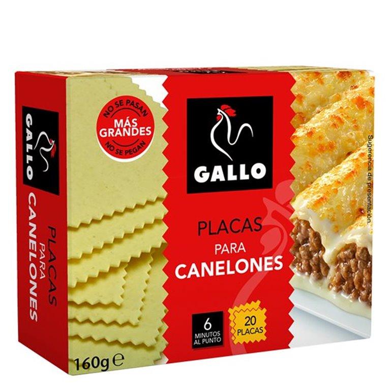 Gallo - Placas para canelones (20 placas)