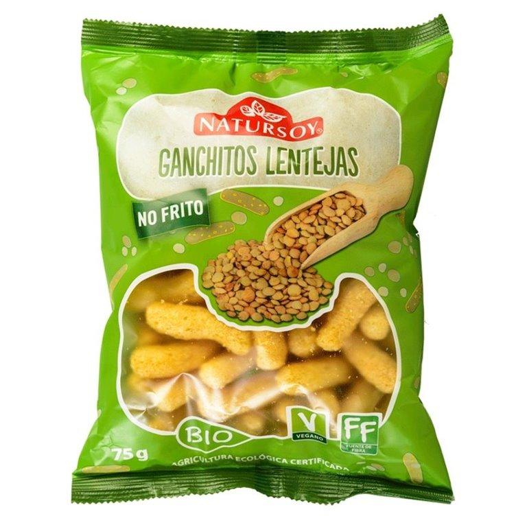 Ganchitos de Lentejas Bio 75g