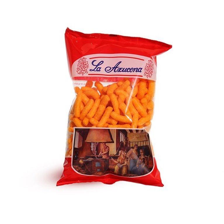 Ganchitos naranjas La Azucena. Bolsa de 100g