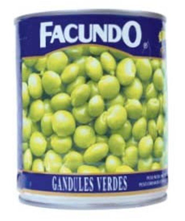 GANDULES VERDES FACUNDO 425GR
