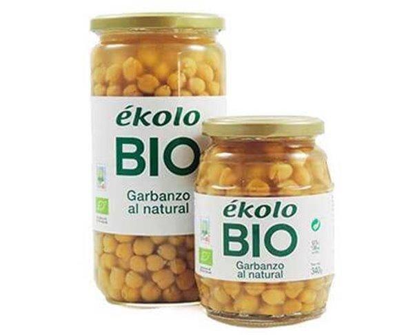 Garbanzo al natural BIO 340 g - Ékolo