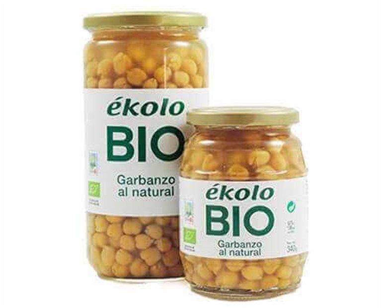 Garbanzo al natural BIO 700 g - Ékolo