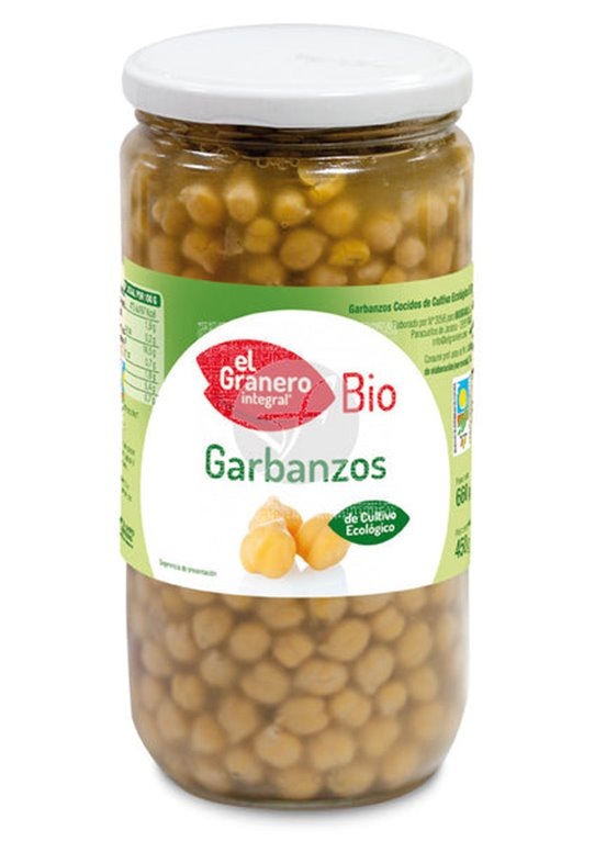 Garbanzo bio 660g