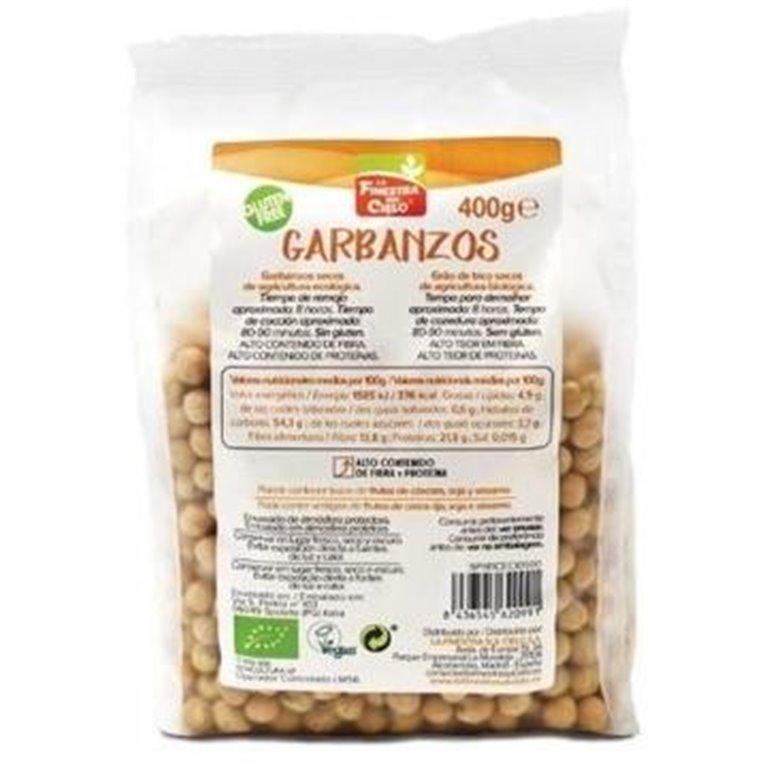 Garbanzos Bio 400g, 1 ud