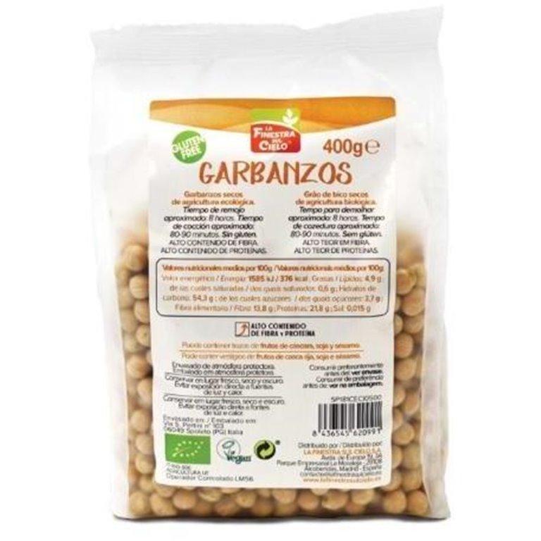 Garbanzos Bio 400g