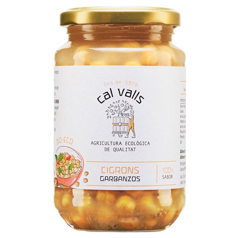Garbanzos Cocidos Bio 450g, 1 ud