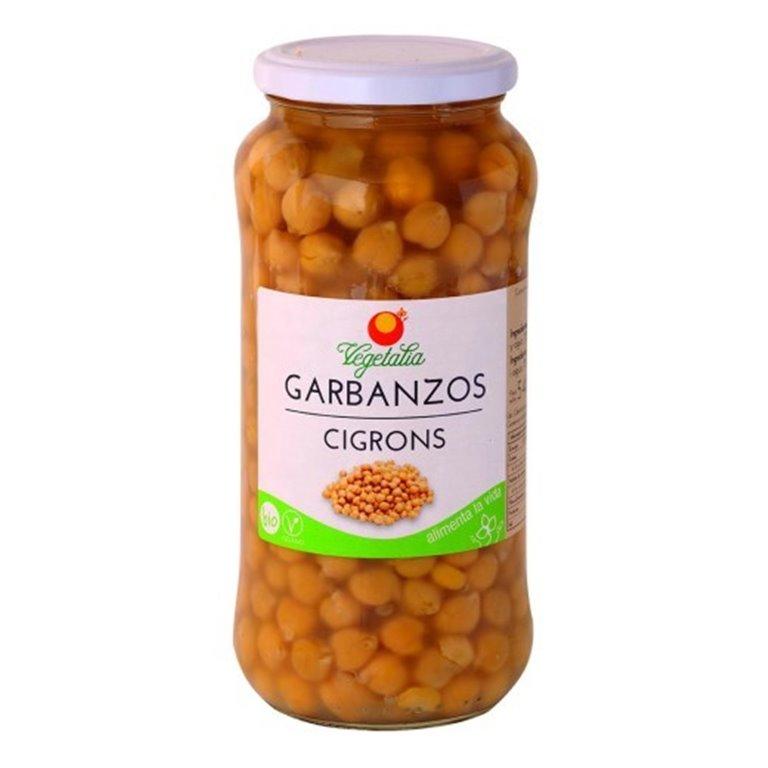 Garbanzos Cocidos Bio 540g, 1 ud