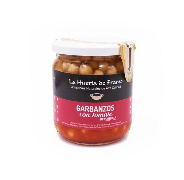 Garbanzos con Tomate Frito de Mansilla
