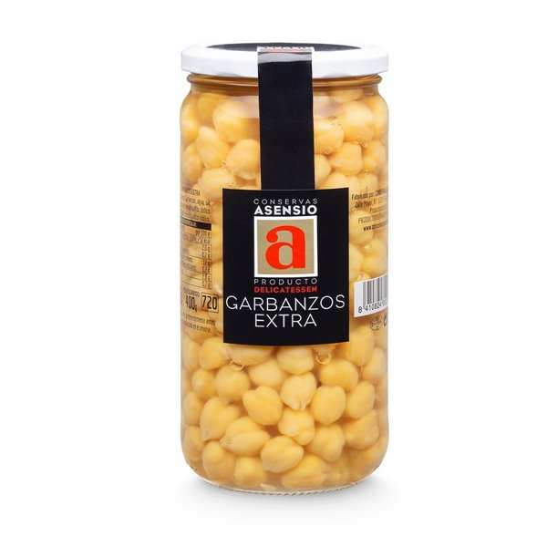 Garbanzos Extra Frasco 660 gramos