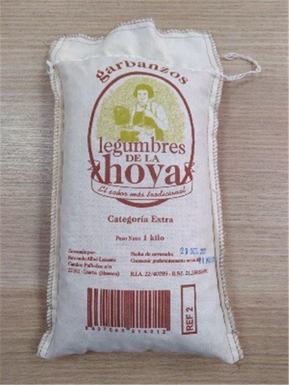 Garbanzos pedrosillano de la Hoya, 1 ud